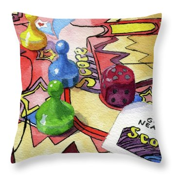 Bonkers Throw Pillow
