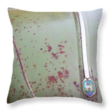Bonnet Patina Throw Pillow