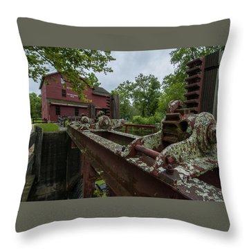 Bonneyville Mills Gears Throw Pillow