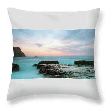 Bonny Doon Throw Pillow by Catherine Lau