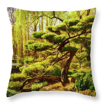 Bonsai Throw Pillow