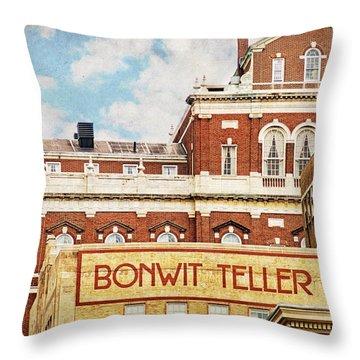 Bonwit Teller Throw Pillow