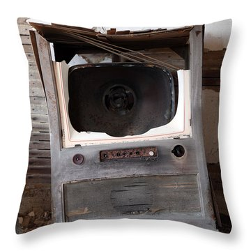 Boobtube Throw Pillow by Amanda Barcon