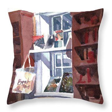 Book Bag Throw Pillow