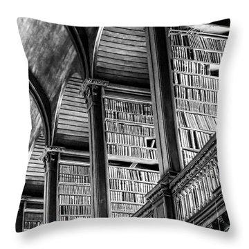 Book Heaven Throw Pillow