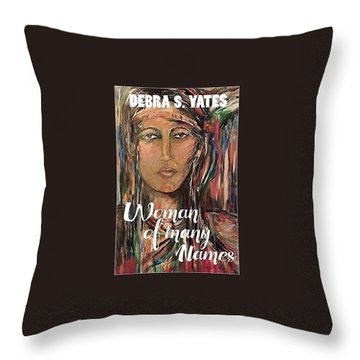 book illustration,Nancy Ward Throw Pillow