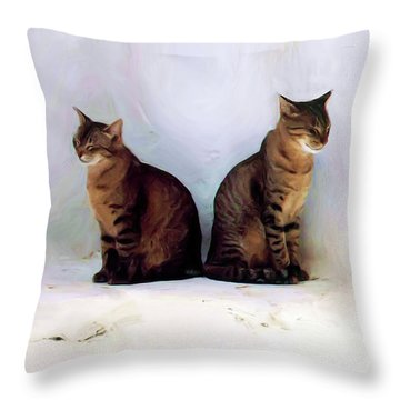 Bookends - Rdw250805 Throw Pillow