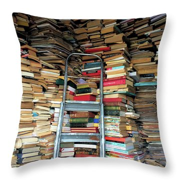 Books For Sale Throw Pillow