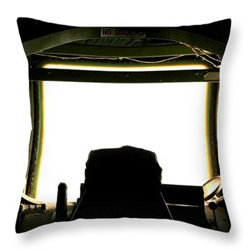 Boom Seat Throw Pillow by David S Reynolds
