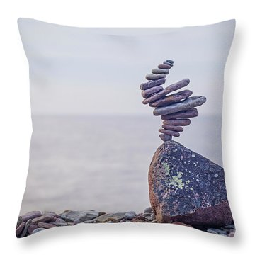 Naturnado Throw Pillow