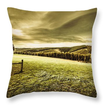 Boonah Countryside Throw Pillow