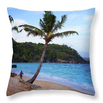 Boracay Philippians Throw Pillow