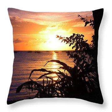 Boracay,philippians  2 Throw Pillow