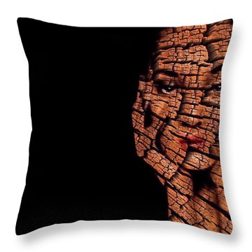 Bored Stiff Throw Pillow