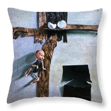 Born Again Throw Pillow by John Lautermilch