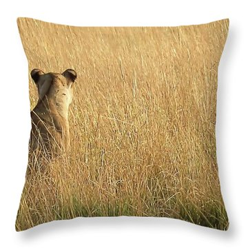 Born Free Throw Pillow