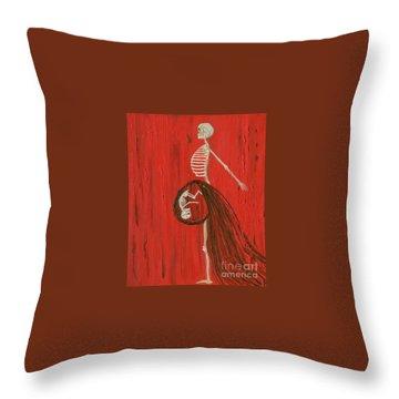 Born To Live E-birth Throw Pillow