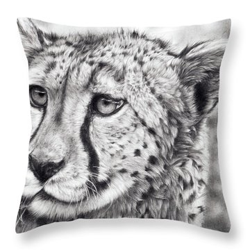 Born To Run Throw Pillow