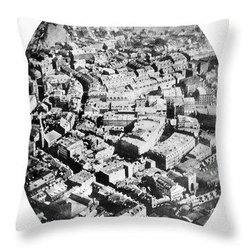 Boston 1860 Throw Pillow by Granger
