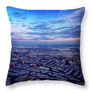 Beantown Throw Pillow