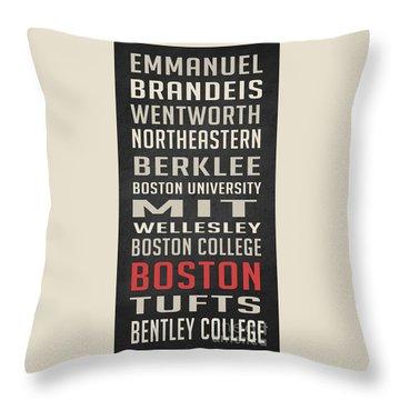Boston Collegetown Throw Pillow