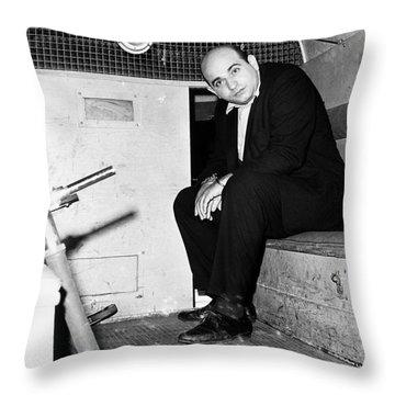 Boston: Police Wagon, 1965 Throw Pillow by Granger