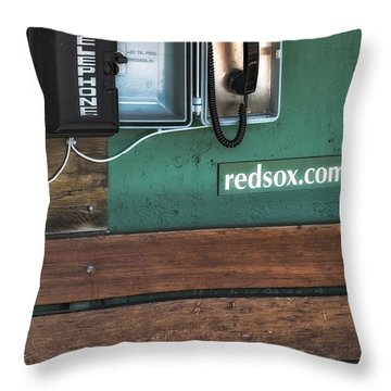 Boston Red Sox Dugout Telephone Throw Pillow