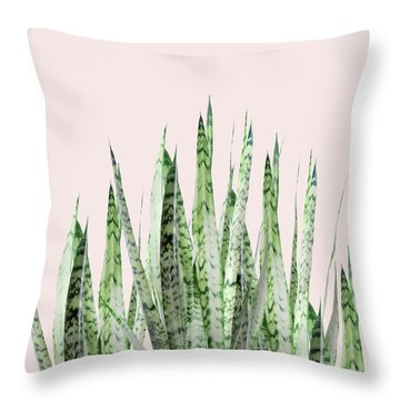 Botanical Balance Throw Pillow