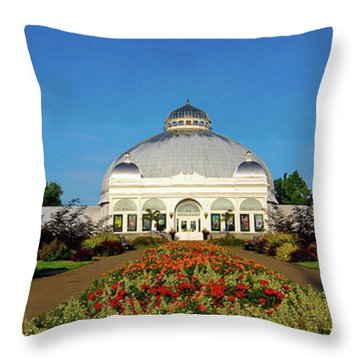 Botanical Gardens 12636 Throw Pillow