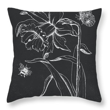 Botanique 2 Throw Pillow