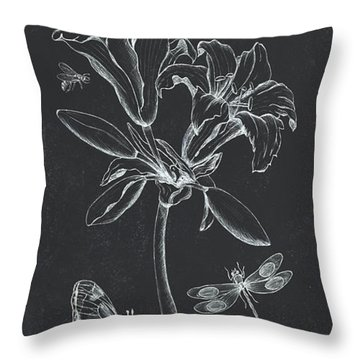 Botanique 3 Throw Pillow