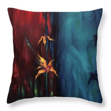 Botany Of Desire Throw Pillow