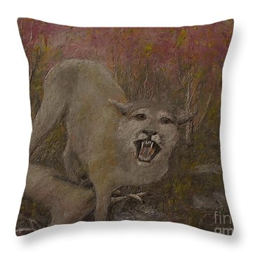 Both Are Inocent Throw Pillow