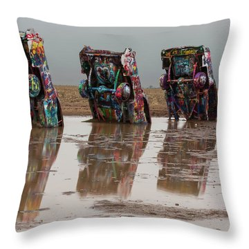 Throw Pillow featuring the photograph Bottoms Up by Stephen Stookey