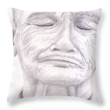 Bou Meng Throw Pillow