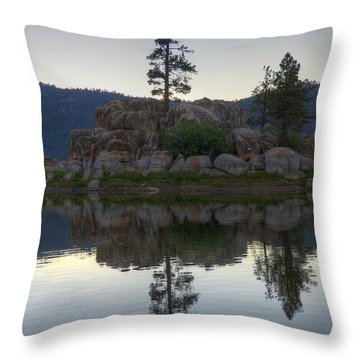 Throw Pillow featuring the photograph Boulder Bay Reflections  by Kelly Wade