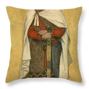 Baldwin Iv Throw Pillow