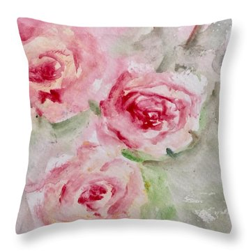 Bought With A Price Throw Pillow by Trilby Cole