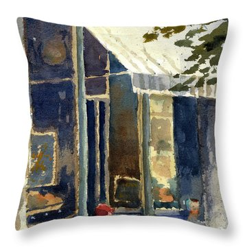 Boulangerie Du Monde, Cedarburg Throw Pillow