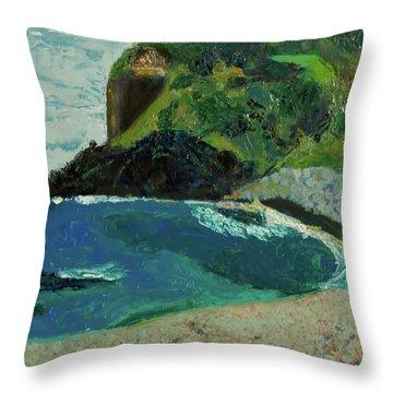 Boulder Beach Throw Pillow