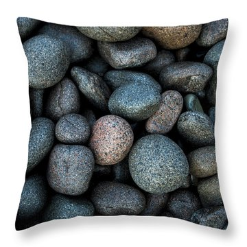 Boulder Beach Rocks Throw Pillow