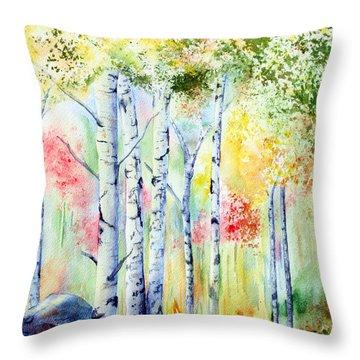 Boulder Grove Throw Pillow