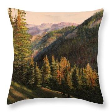 Boulder Pass Throw Pillow