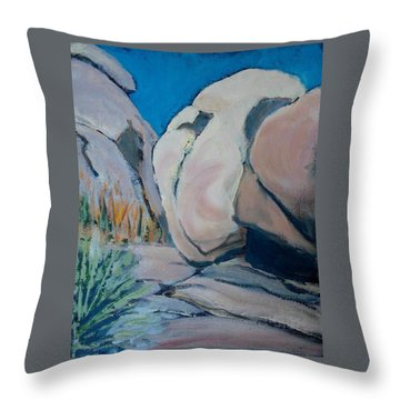 Boulder Throw Pillow