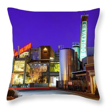 Boulevard Brewing Kansas City Throw Pillow