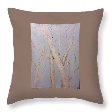 Boulots  Throw Pillow