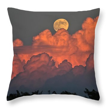 Bouncing On Dreams Throw Pillow