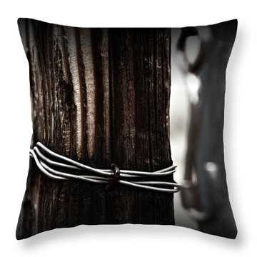 Throw Pillow featuring the photograph Bound  by Mark Ross