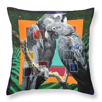 Boundary Series Xiv Throw Pillow