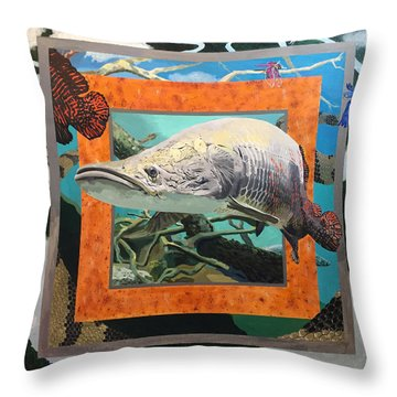 Boundary Series Xv Throw Pillow